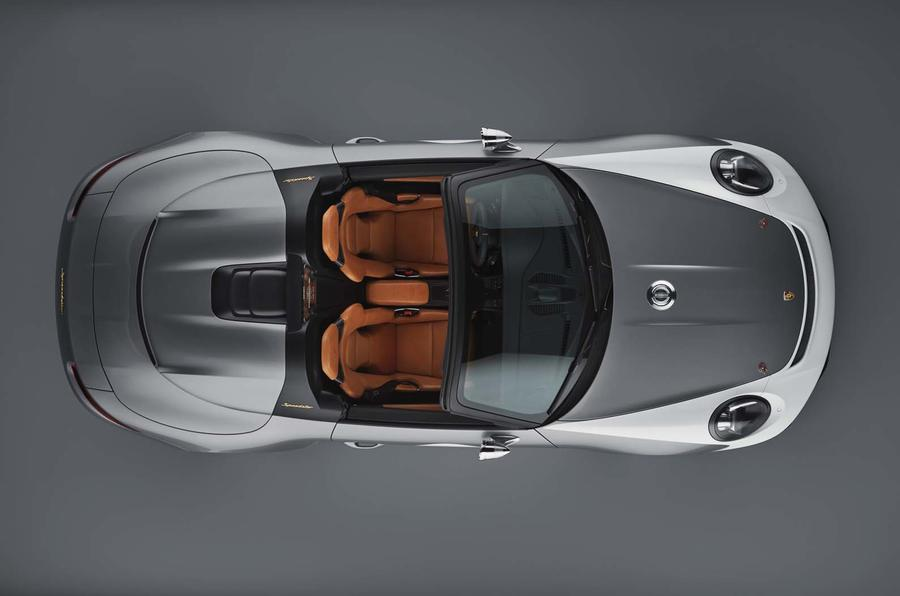 Porsche 911 Speedster Concept Makes Surprise Debut At Company's 70th Anniversary