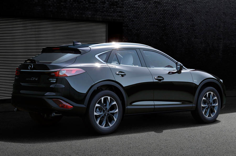 new mazda cx 4 revealed in beijing autocar. Black Bedroom Furniture Sets. Home Design Ideas