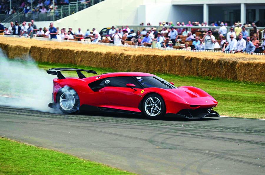 Ferrari P80C at Goodwood