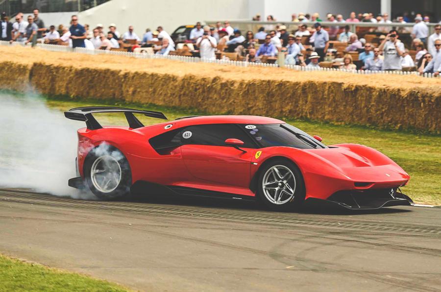 Ferrari P80/C at Goodwood festival of Speed