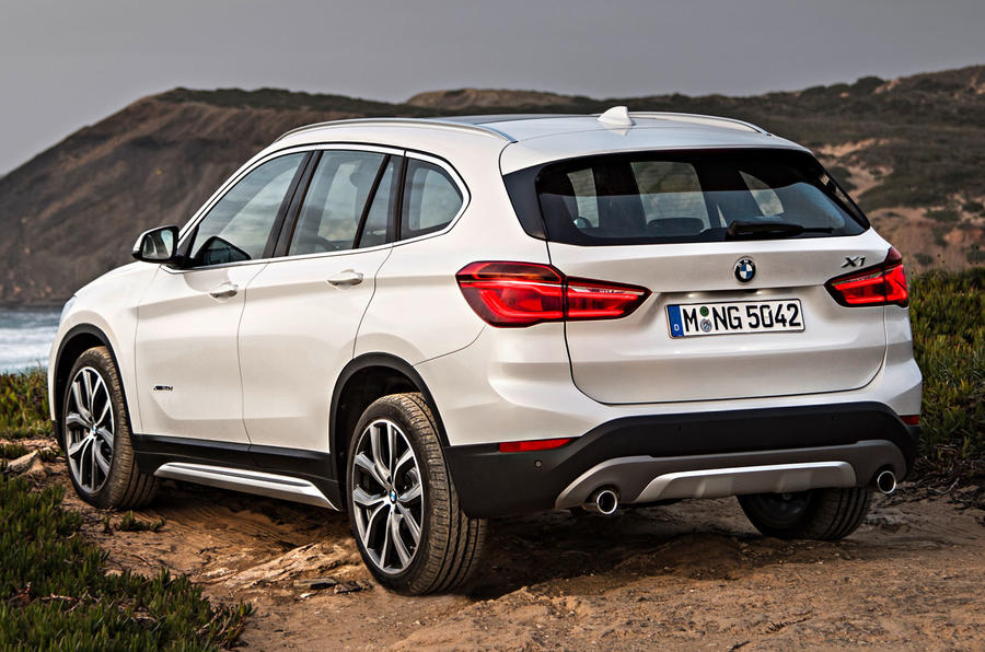 BMW X1 press - rear 3/4