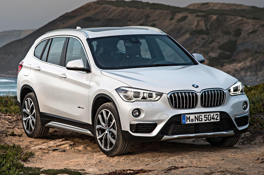 BMW X1 press - hero front
