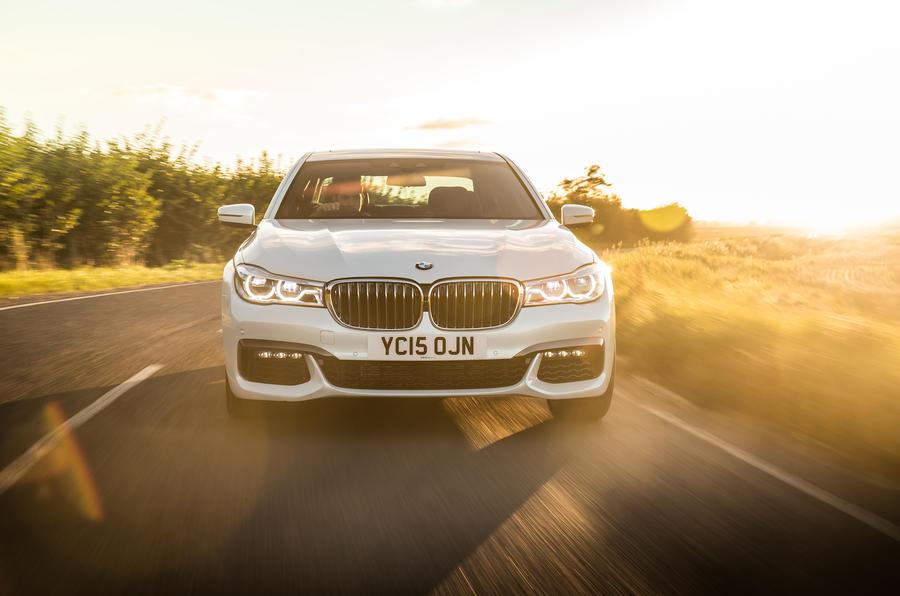 155mph BMW 740Li