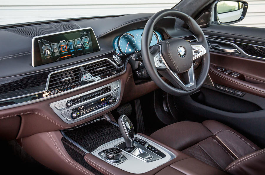 BMW 730Ld interior