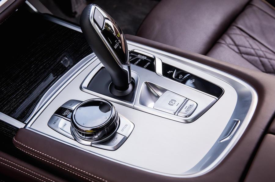 BMW 740Li automatic gearbox