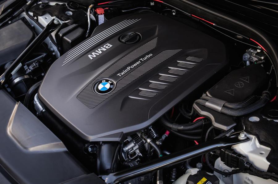 3.0-litre BMW 730Ld diesel engine