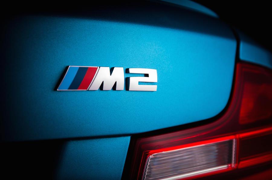 BMW M2 badging