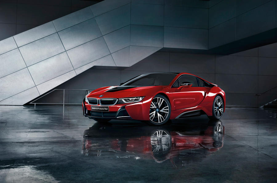 BMW i8 Protonic Red Celebration Edition