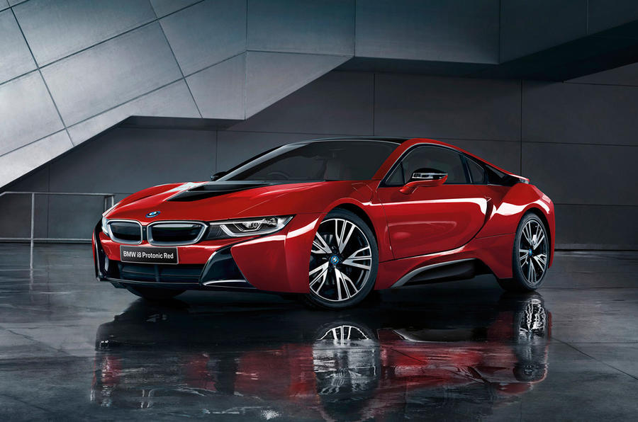 Delightful BMW I8 Protonic Red Celebration Edition ...