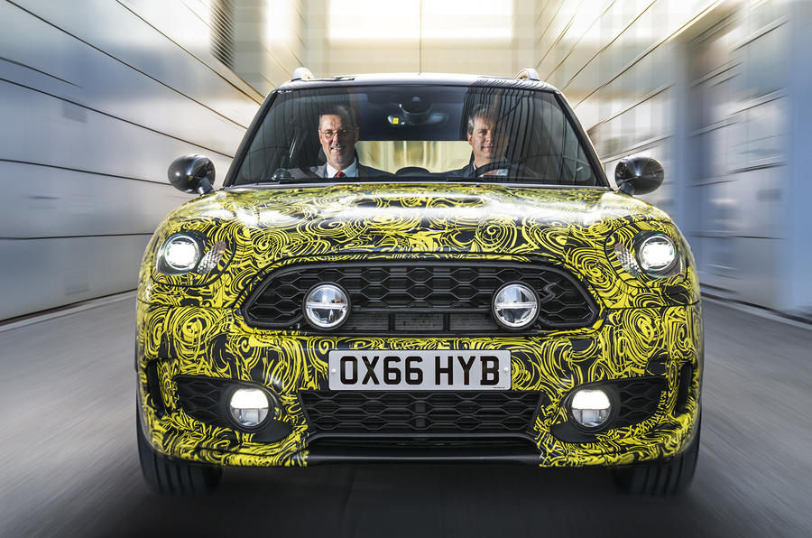 Mini Countryman will be company's first hybrid vehicle