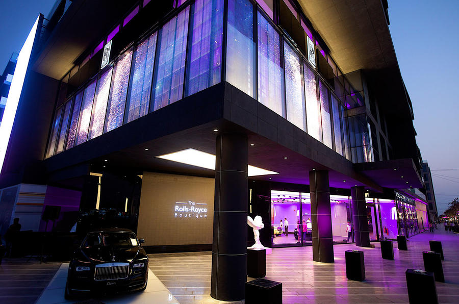 Rolls-Royce Boutique showroom opens in Dubai