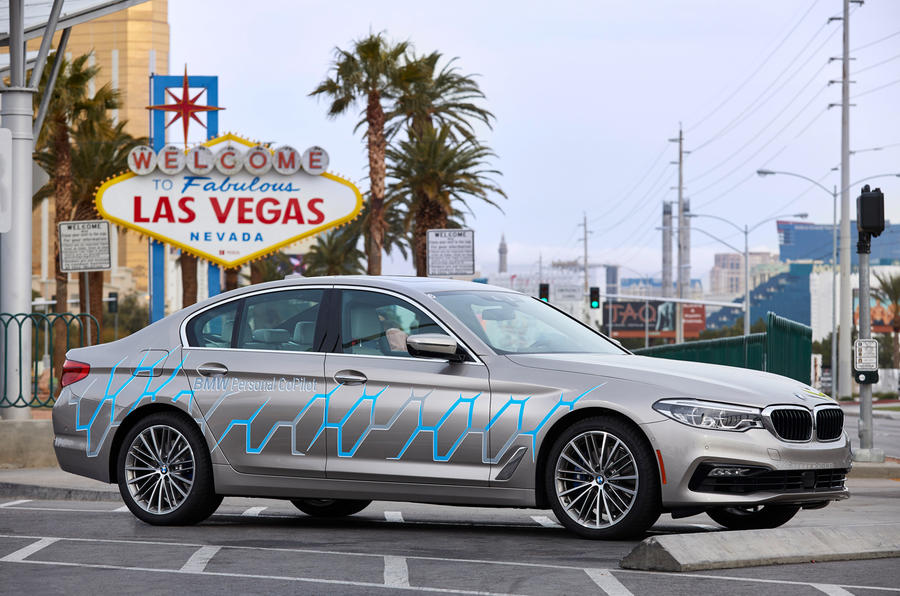 BMW's Self-Driving Cars to Hit Public Streets This Year