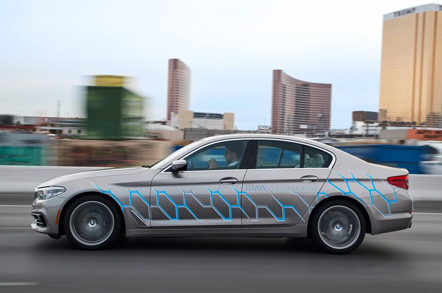 ... Autonomous BMW 7 Series Models To Test On Roads This Year ...