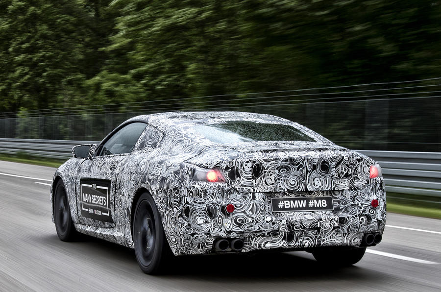 BMW M8 confirmed