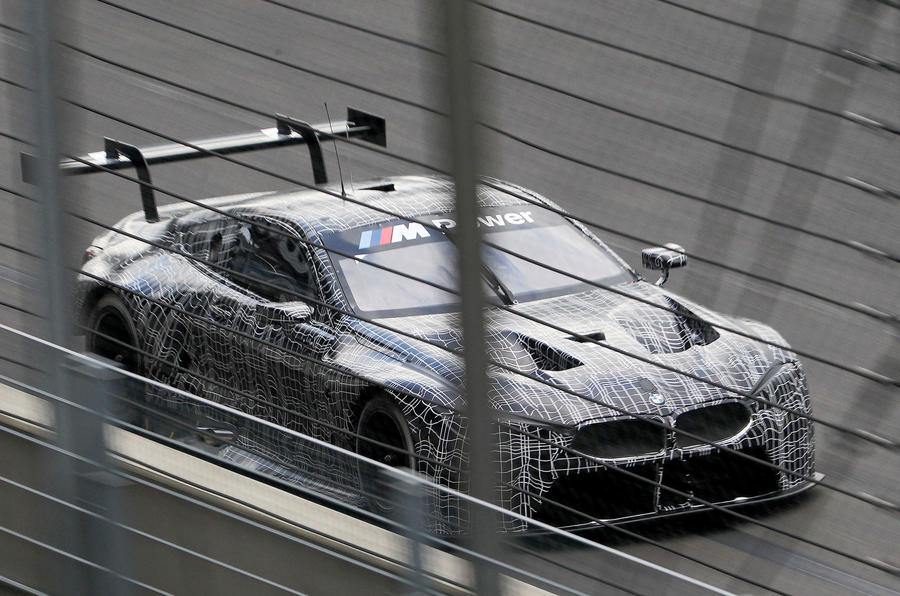 BMW M8 GTE racing car to be revealed at Frankfurt