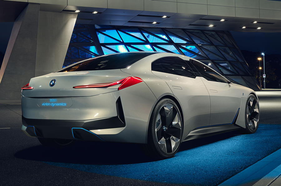 Bmw I Vision Dynamics Concept Inspired I5 To Spark New Era Of I Cars