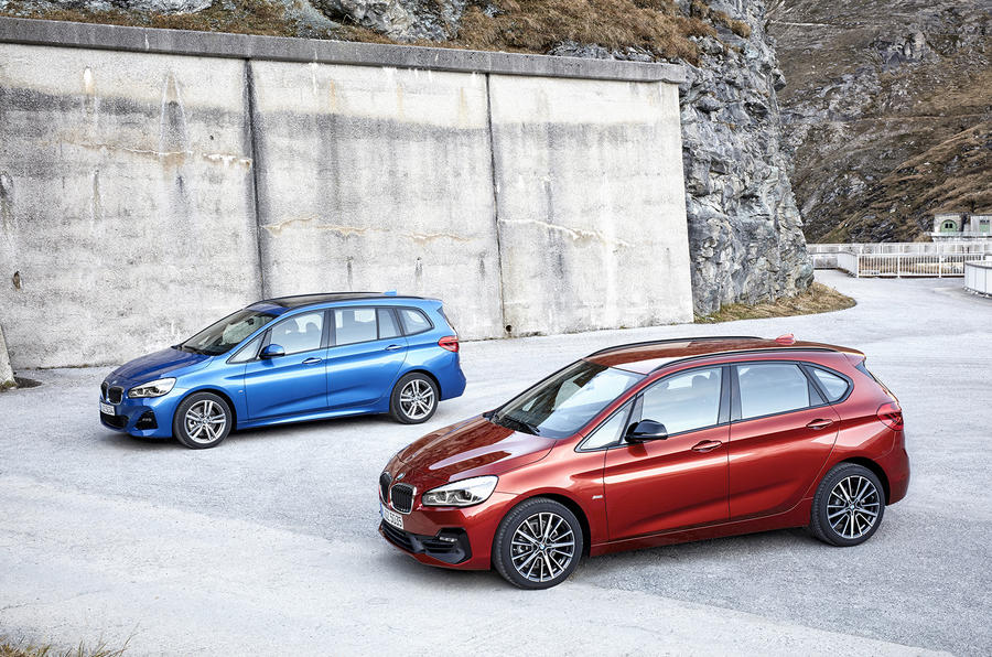 BMW 2 Series Active Tourer and Gran Tourer facelifts revealed