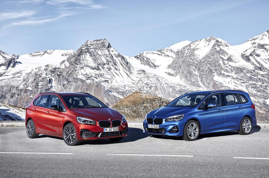 2018 BMW 2 Series Active Tourer facelift revealed