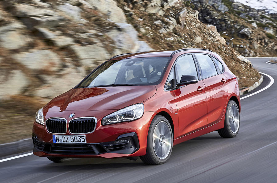Refresh for BMW 2 Series Tourer and Active Tourer
