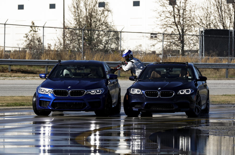 BMW M5 breaks world record for the longest drift