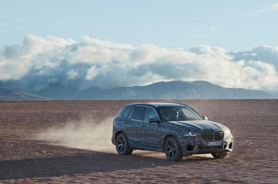 BMW X5 previewed in new test images