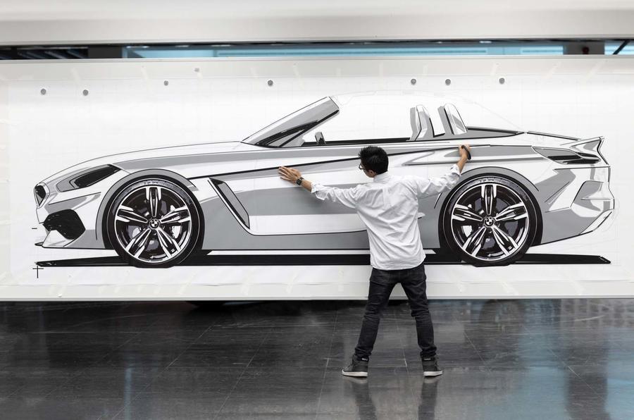 BMW Z4 design