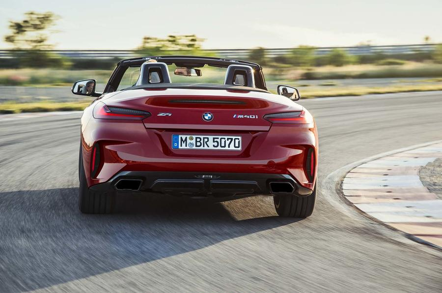BMW Z4 official rear