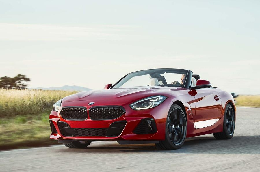 BMW Z4 official front close