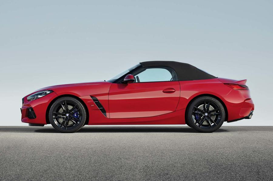 BMW Z4 official side