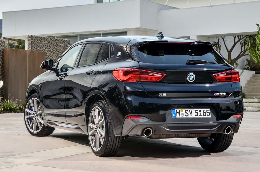 new bmw x2 m35i revealed the first of the four pot m cars autocar. Black Bedroom Furniture Sets. Home Design Ideas