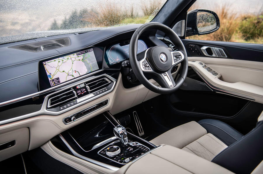 BMW X7 30d M Sport 2019 UK review - dashboard
