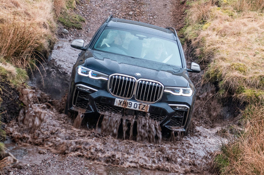 BMW X7 30d M Sport 2019 UK review - off-road
