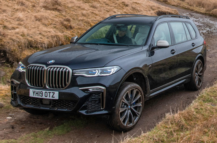 BMW X7 30d M Sport 2019 UK review - static hero front