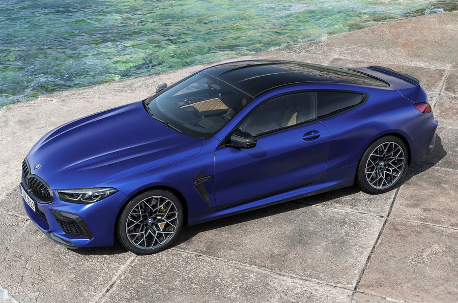 BMW M8 Gets Dolled Up With M Performance Parts