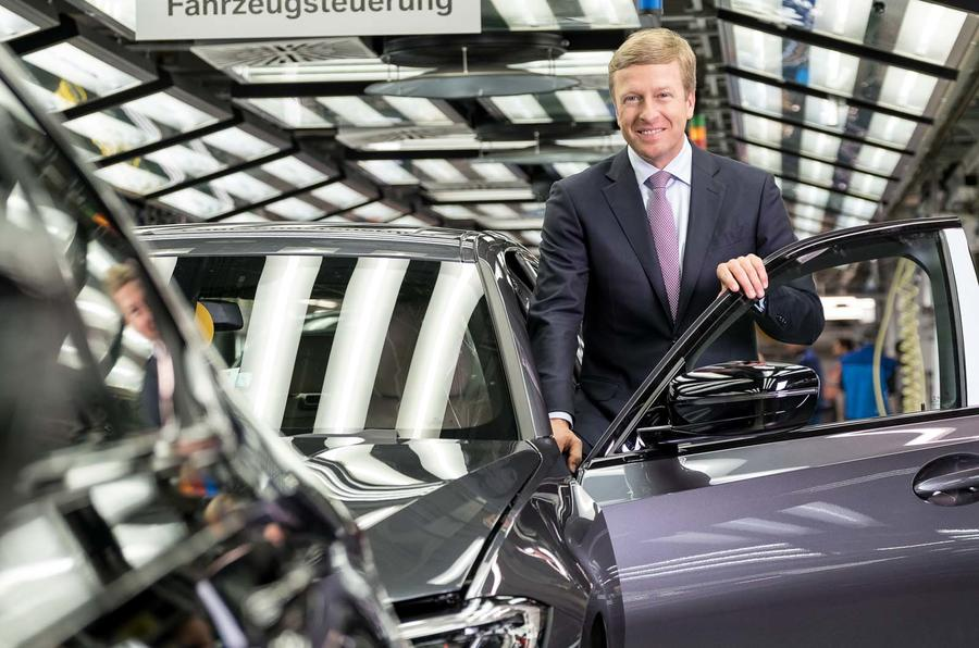 BMW announces appointment of Oliver Zipse as CEO