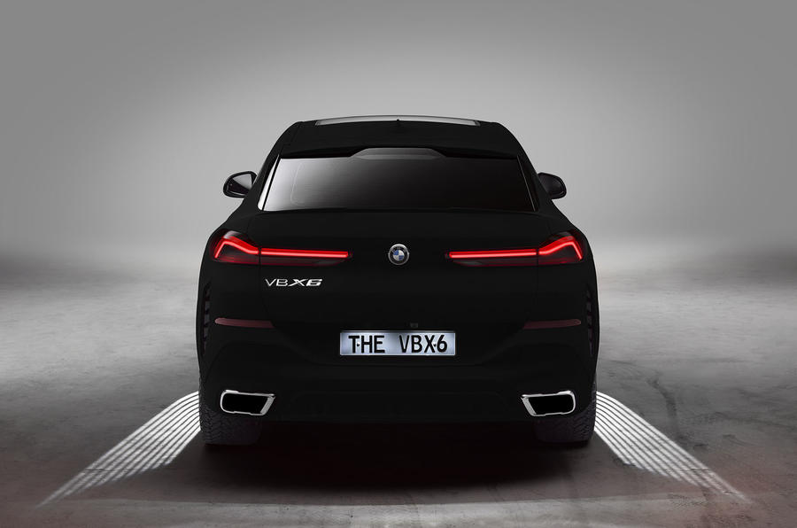 Bmw Paints New X6 In Light Absorbing Vantablack Autocar