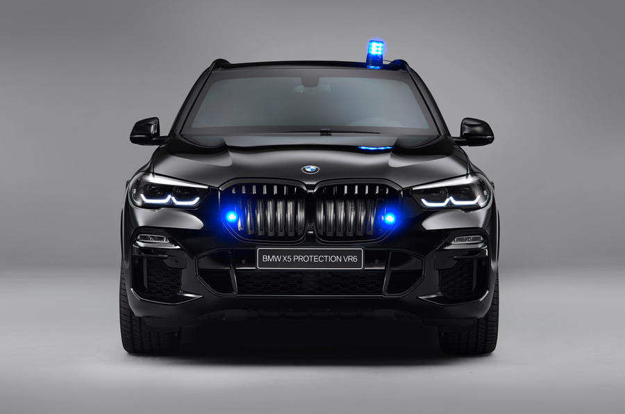 BMW armours X5 for bulletproof Protection VR6