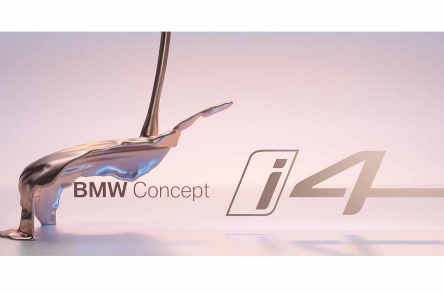 BMW has teased the Concept i4 with a short video