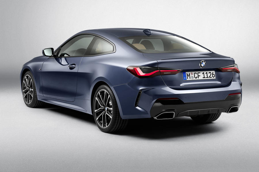 2020 BMW 4 Series Coupe - static rear