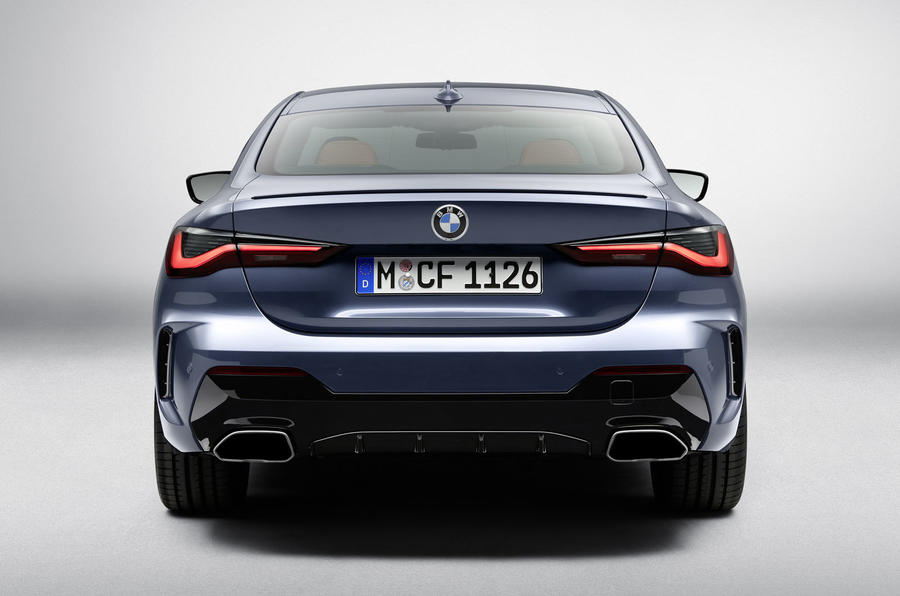 2020 BMW 4 Series Coupe - rear