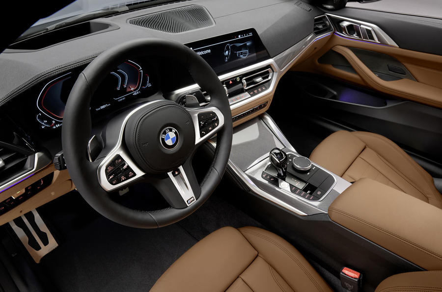 2020 BMW 4 Series Coupe - dashboard
