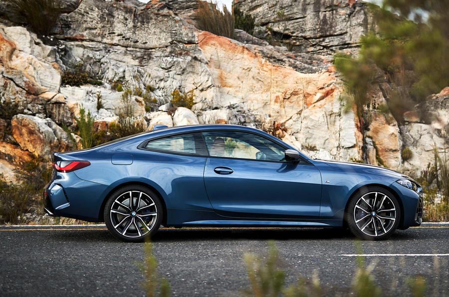 2020 BMW 4 Series - side