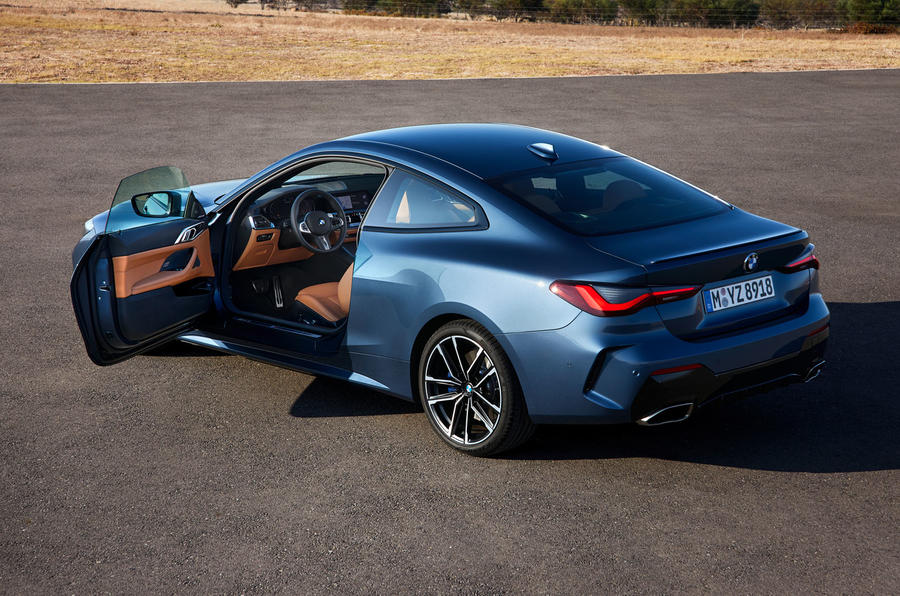 2020 BMW 4 Series Coupe - rear doors open