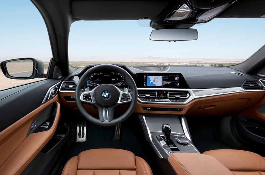2020 BMW 4 Series - interior