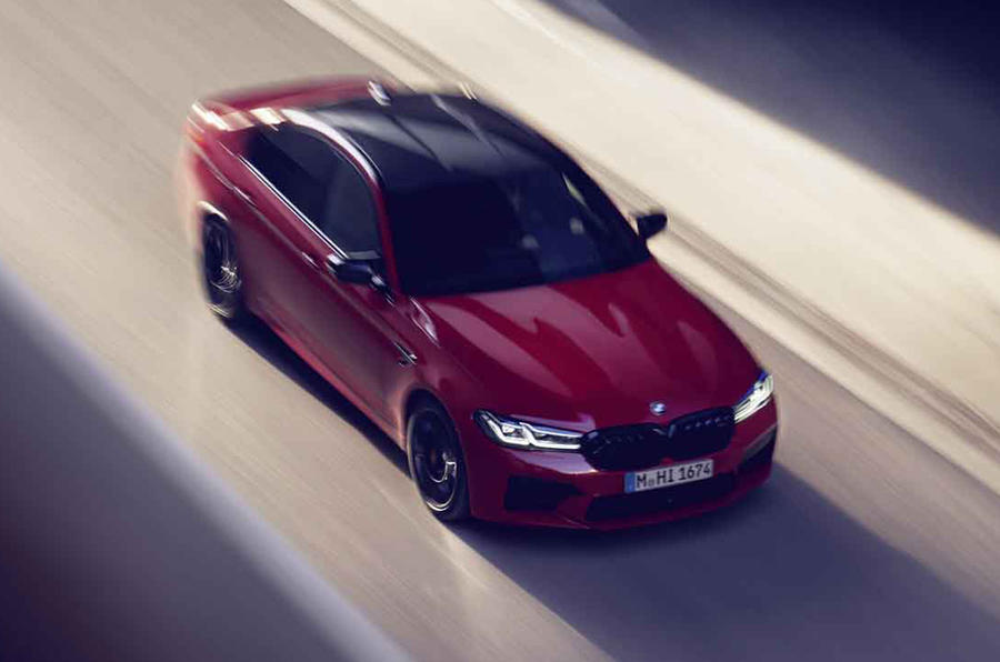 BMW M5 2020 - rolling front