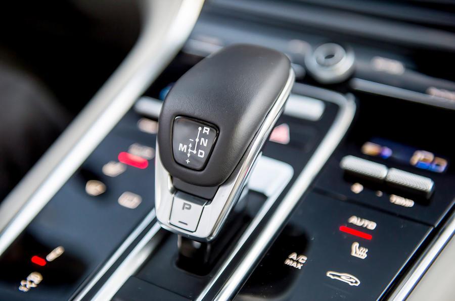 Porsche Panamera Turbo automatic gearbox