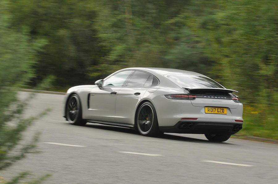 Porsche Panamera 4 E-Hybrid rear