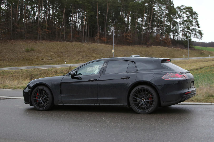 2017 Porsche Panamera Sport Turismo Spotted At The