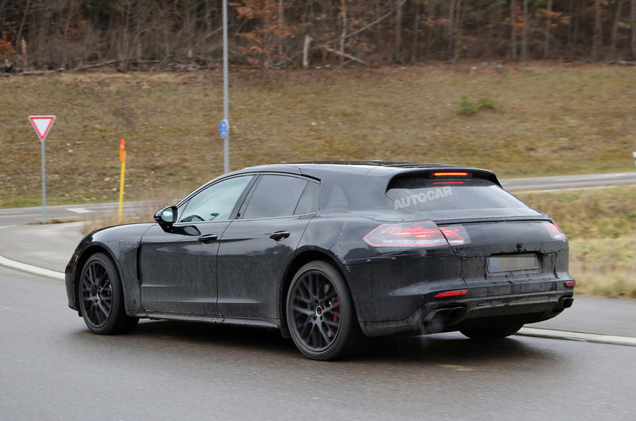 2017 Porsche Panamera Sport Turismo Spotted At The Nurburgring Autocar