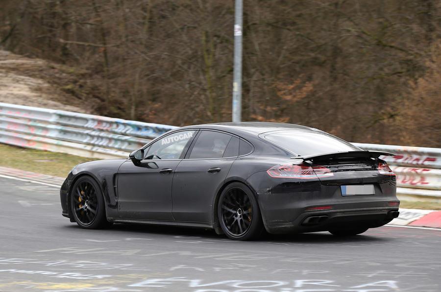 Porsche Panamera spy 2017